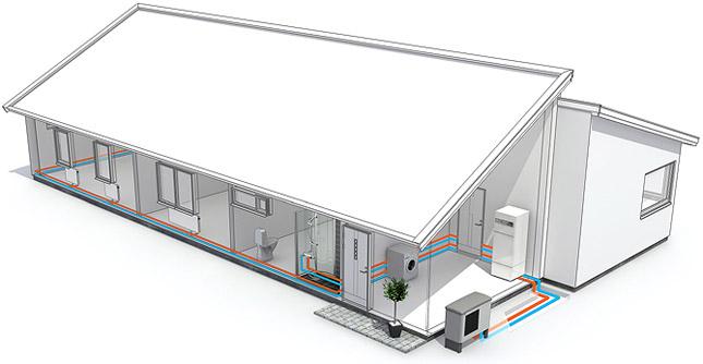 Hvordan fungerer luft til vann-varmepumper?
